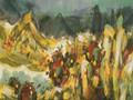 2012广州国际艺术品交易博览会作品精选系列,寄情于色彩与笔墨间——品易元和重彩作品