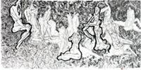 """""""裸线""""半未水墨作品展"""