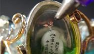 台湾艺术家雕刻1毫米袖珍鸡 迎接鸡年