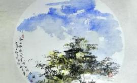 """""""诗韵江南""""王福元中国画展"""