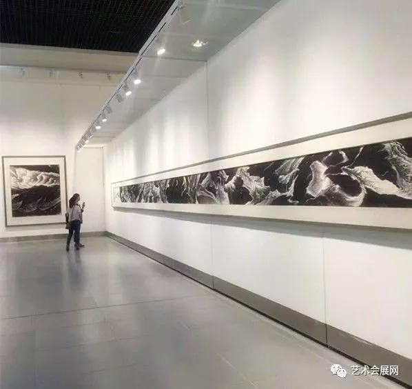 翰墨青州·2017中国书画年会展览现场