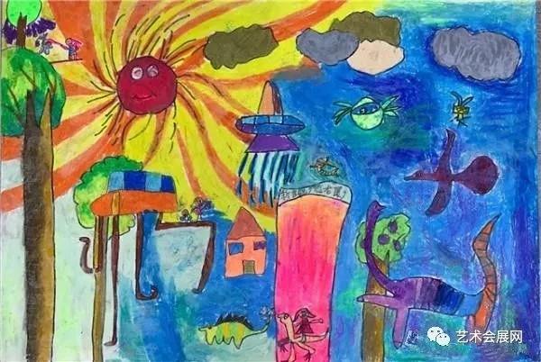 """""""未来计划""""2017全国少年儿童绘画大赛启动展"""