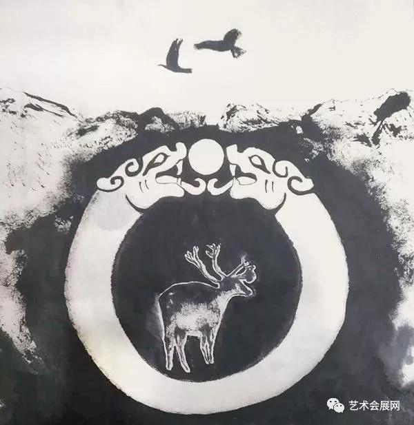 《入神》系列·贰《渊·源》 —— 现当代水墨联展