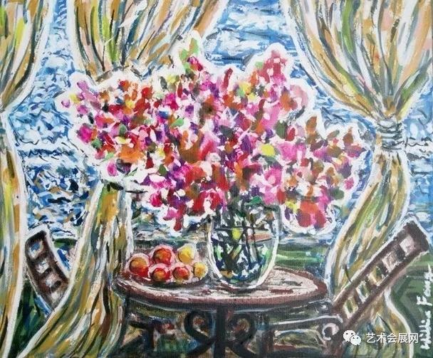 《静物》50×60cm  布面油画