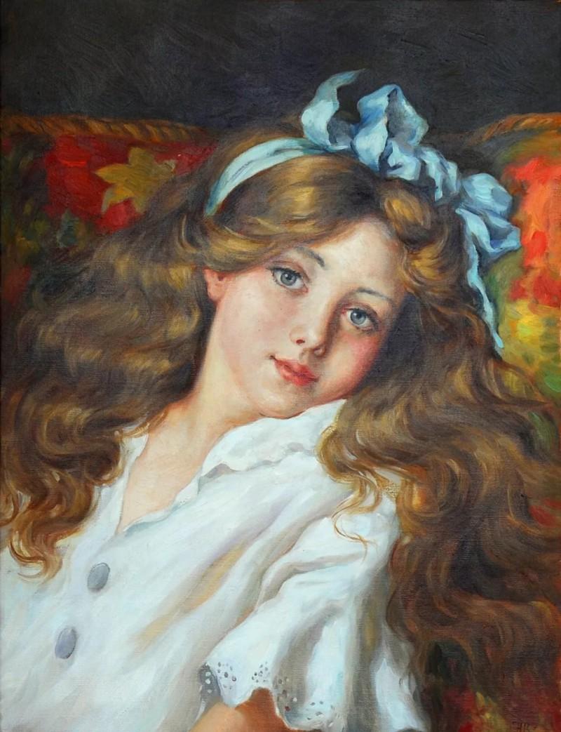 纳戈尔诺夫《姑娘的肖像》