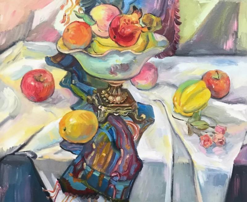 徐明磊《水果物语》50×60cm
