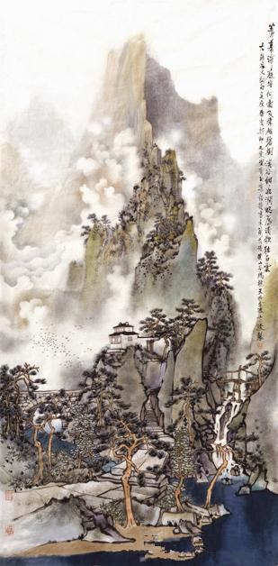 闳约深美育丹青——南京艺术学院中国画、书法专业改革开放40周年教学成果展
