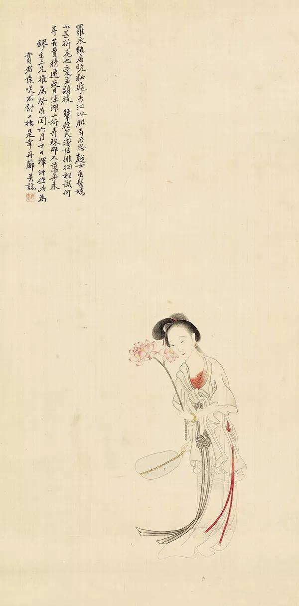 南艺美术馆与江苏省美术馆藏清代仕女画联展