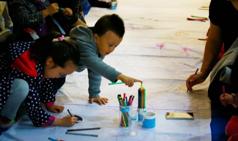西湖艺术博览会互动现场