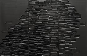 皮埃尔 • 苏拉吉个展:超越黑色百年展 (2)