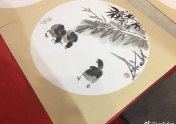 2020年、第十五届书画国画精品展