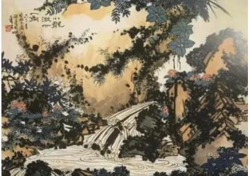 二十世纪中国画展