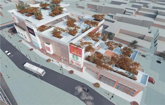 51广州宝华路社区商业中心设计