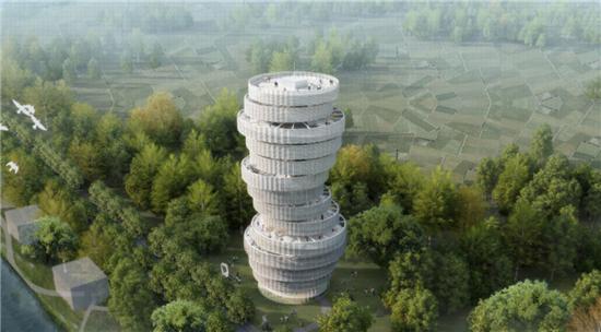 52The Curvy Tower(新会曲美塔)